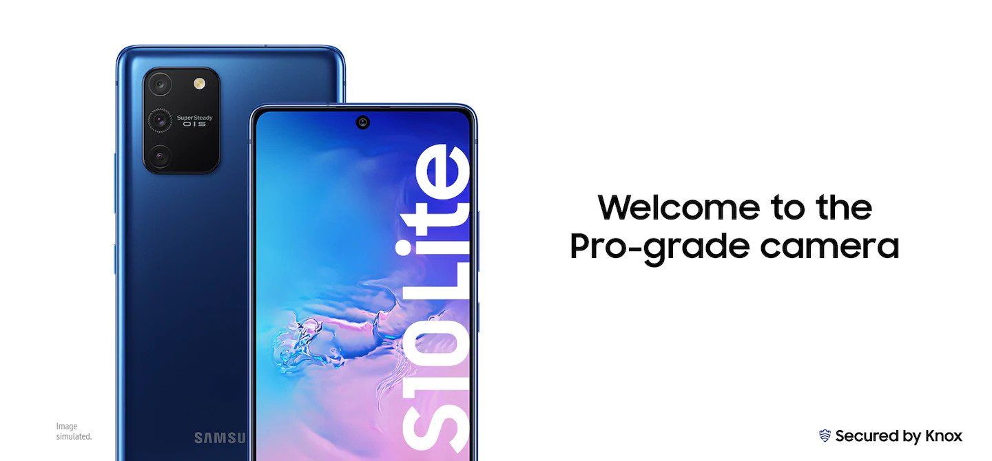 Galaxy S10 Lite – Powerful But Looks Simple