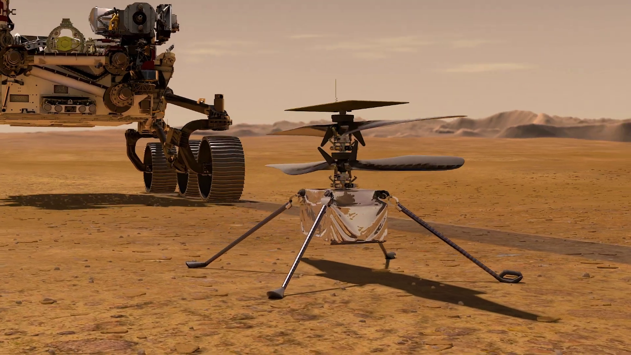 NASA is sending a Helicopter to Mars – Ingenuity