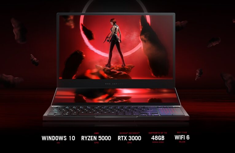 ASUS ROG Zephyrus Duo SE 15 – The Most Powerful Gaming Laptop